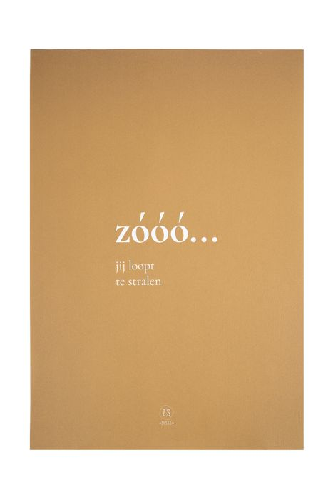 Zusss A3 poster zooo