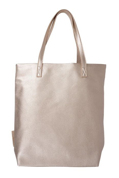 Zusss Basic shopper goud metallic