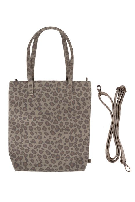 Zusss basic shopper leopard