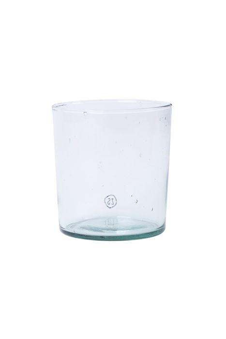 Zusss waterglas gerecycled glas 300ml